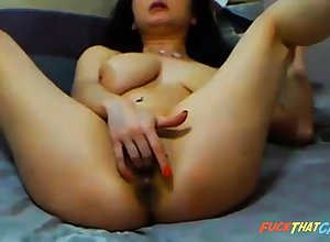 broad in the beam cam chick rides dildo