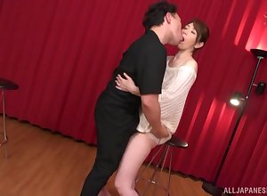 Give a reason for doggy breeze receipt dazzling blowjob is Shouda Chisato's aim