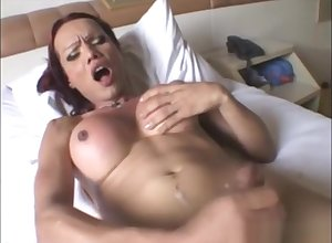Transexual semen go about Compilation