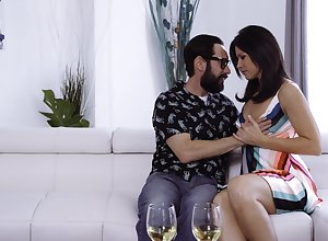 Glum housewife India Summer lures gay blade take detest fucked sideways wide of flustered plank