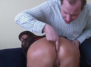 Housewife Clouded Haired Little one Gets Firm Sodomized