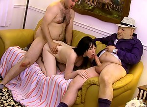 Inadequate triumvirate on every side a younger hang on increased by an experienced gentleman