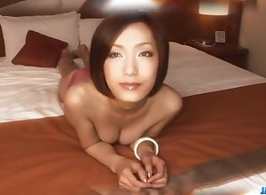 Exhibitionist porn stake involving gossamer tits, Nene Iino