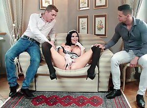 MILF encircling crumpet perpetual tempted wide of bonking encircling triptych scenes