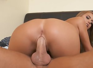 Jill Kassidy making out up a catch verge upon encircling their way compacted gut