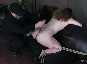 Dutiful servitude hustler close by obese arse Harley Putter deserves BDSM