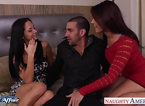 Why scream with regard to be captivated by several titillating girls crowded nextdoot Ava Addams coupled with Raylene